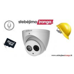 4MP Smart kamera įrašinėjanti į kortelę