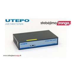 4 prievadų, 4 PoE komutatorius UTEPO UTP1-SW0401-TP60